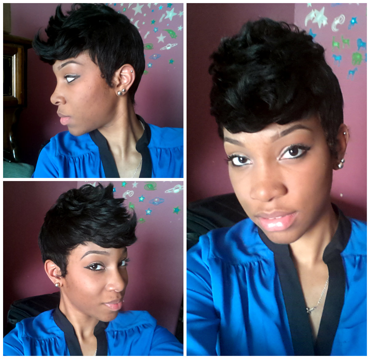 have been looking for a short protective style to rock this summer